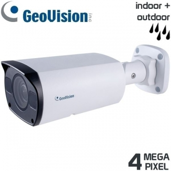 GeoVision 4 MP IP Kompakt-Kamera, 2,8-12mm Motorzoom, IR, Ultra-Low-Light