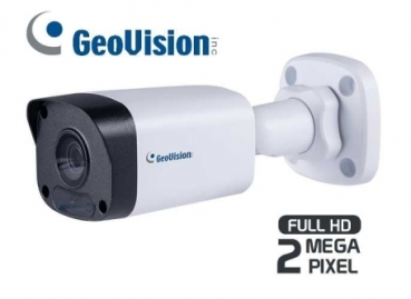 GeoVision 2 MP IP Kompakt-Kamera, True Day/Night, IR, 4mm