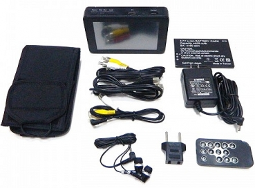 "PV-1000 EVO3, Mini DVR, 5"" Touchscreen, WLAN, IP, 1 TB HDD"